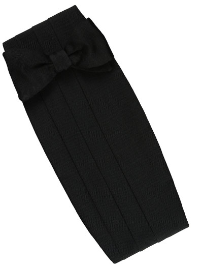 black formal set blk grosgrain