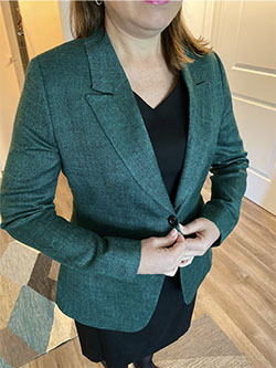 Women's Custom Clients                                                                                                                                                                                                                                    , Tom James Womens Client - Teal Jacket