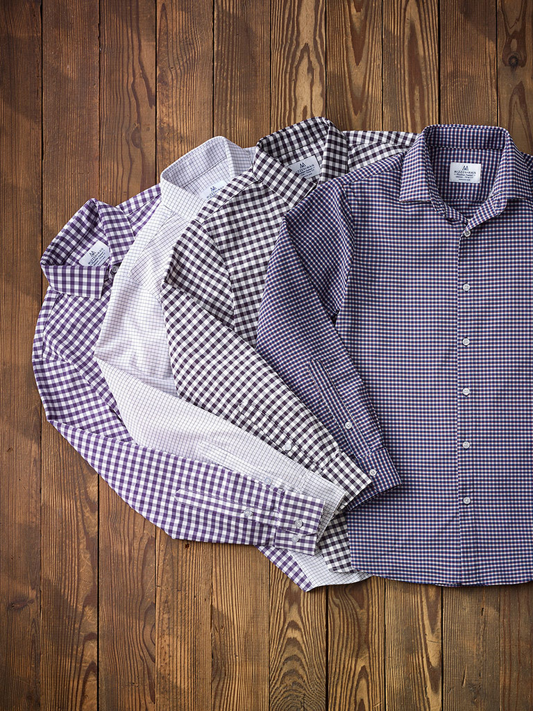 Gingham & Check Sport Shirts by Mizzen & Main