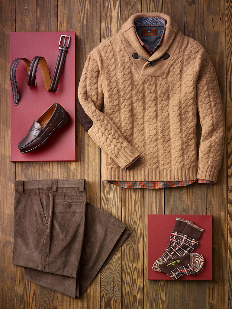 Warm Weekend Look by Tom James & James Tattersall