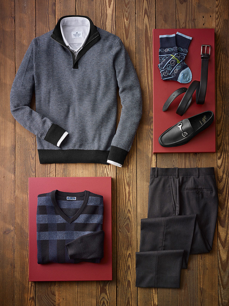 Smart Casual Collection from Tom James and Mizzen & Main