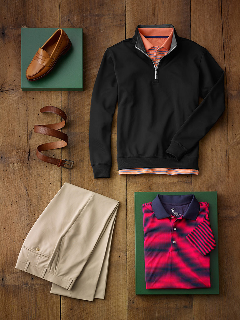 Active Weekend Wear by Fairway & Greene and Tom James