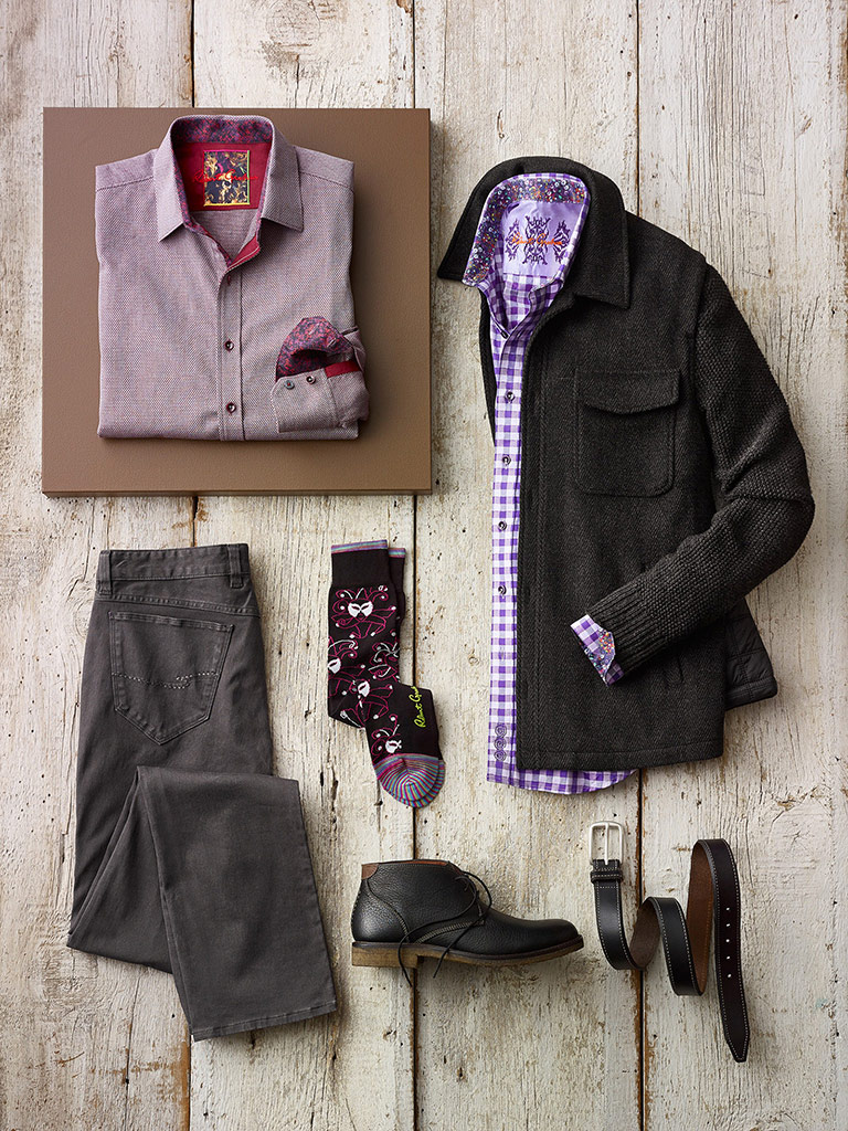 Unique Jacket and Sport Shirts by Robert Graham
