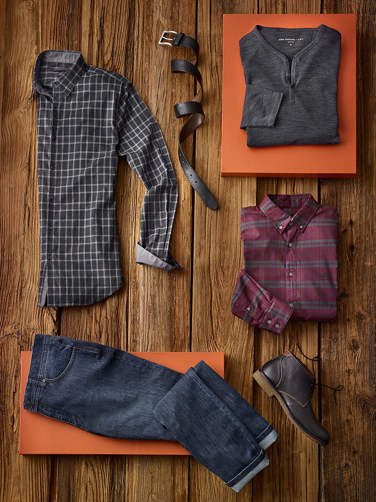 Smart-casual by John Varvatos and Jack of Spades