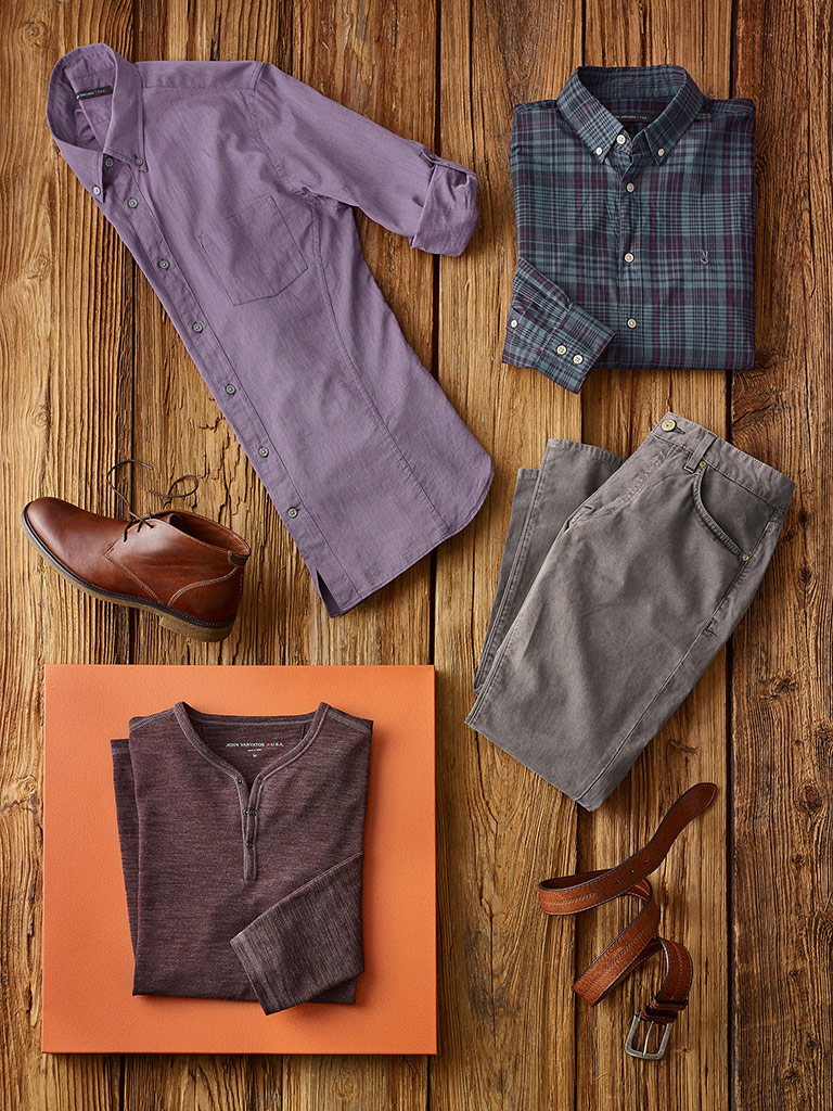 Smart-casual by John Varvatos and Agave