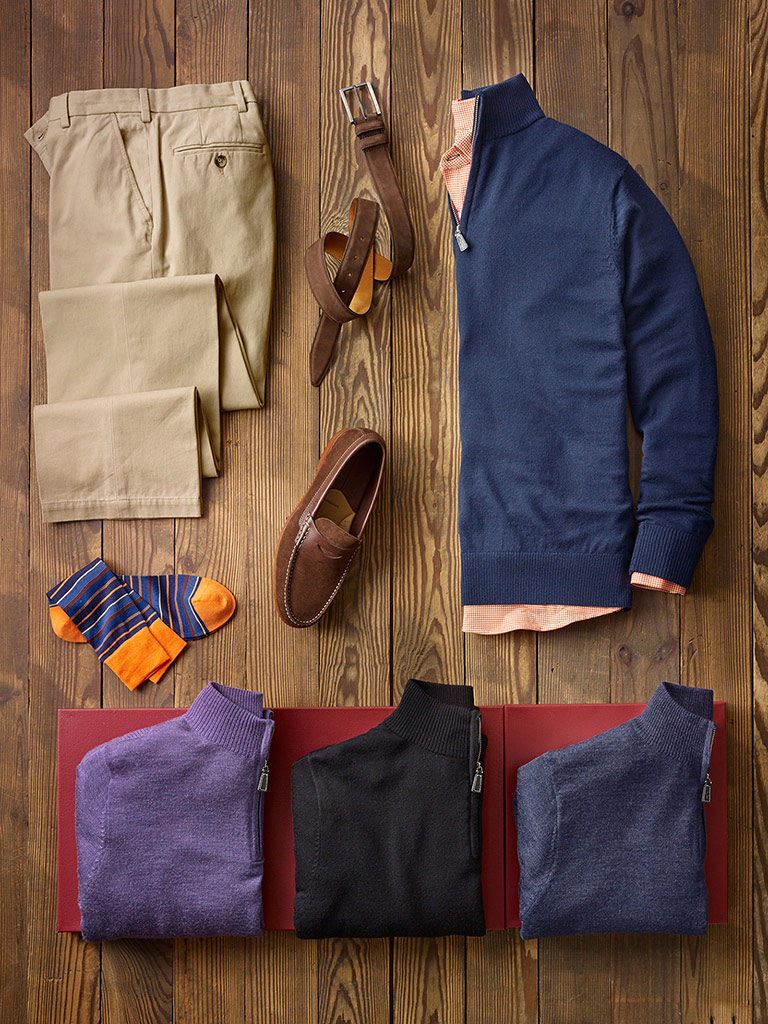 SPORTSWEAR                                                                                                                                                                                                                                                , Practical Casual with Tom James and Mizzen & Main
