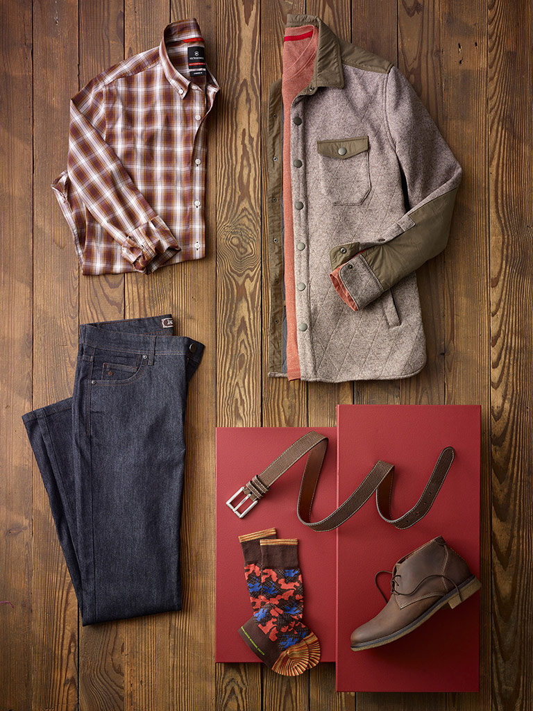 SPORTSWEAR                                                                                                                                                                                                                                                , Autumn Comfort by Jeremiah, Tom James, Victorinox and Jack of Spades