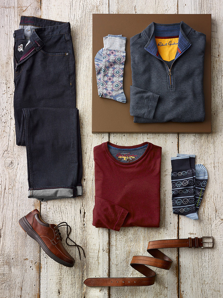 SPORTSWEAR                                                                                                                                                                                                                                                , Comfortable Casual by Robert Graham