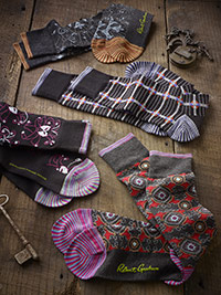 ACCESSORIES                                                                                                                                                                                                                                               , Signature Socks by Robert Graham