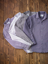 Custom Gingham & Check Sport Shirts by Mizzen & Main