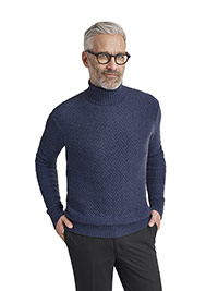 SPORTSWEAR                                                                                                                                                                                                                                                , Cable Knit Turtle Neck Sweater by Tom James