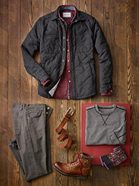 Custom Relaxed Casual by Jeremiah, Robert Graham, Tom James and Agave