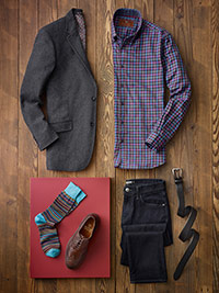 Custom Dressed Up Casual by James Tattersall and Agave