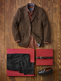 Custom Dressed Up Casual by James Tattersall and Corbin