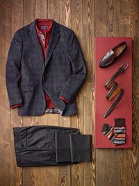 Custom Dressed Up Casual by James Tattersall, Tom James and Corbin