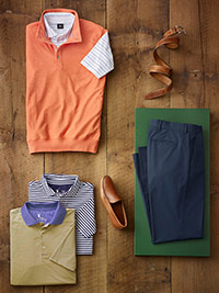 Custom Active Weekend Wear by Fairway & Greene and Corbin
