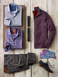 Custom Modern Classic Sport Shirt & Sweaters by Robert Graham