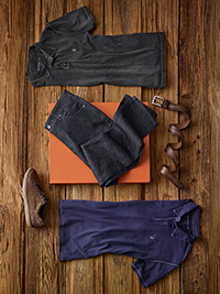 Custom Broken-In Casual by John Varvatos and Jack of Spades