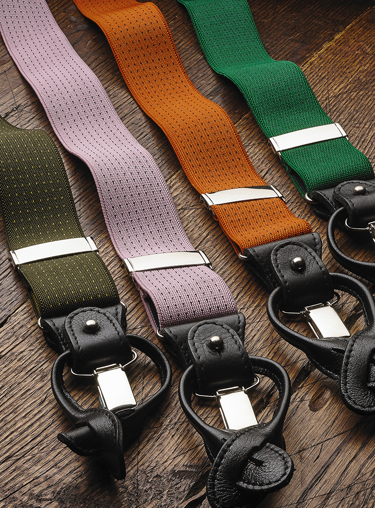 Fancy Braces by The British Belt Company