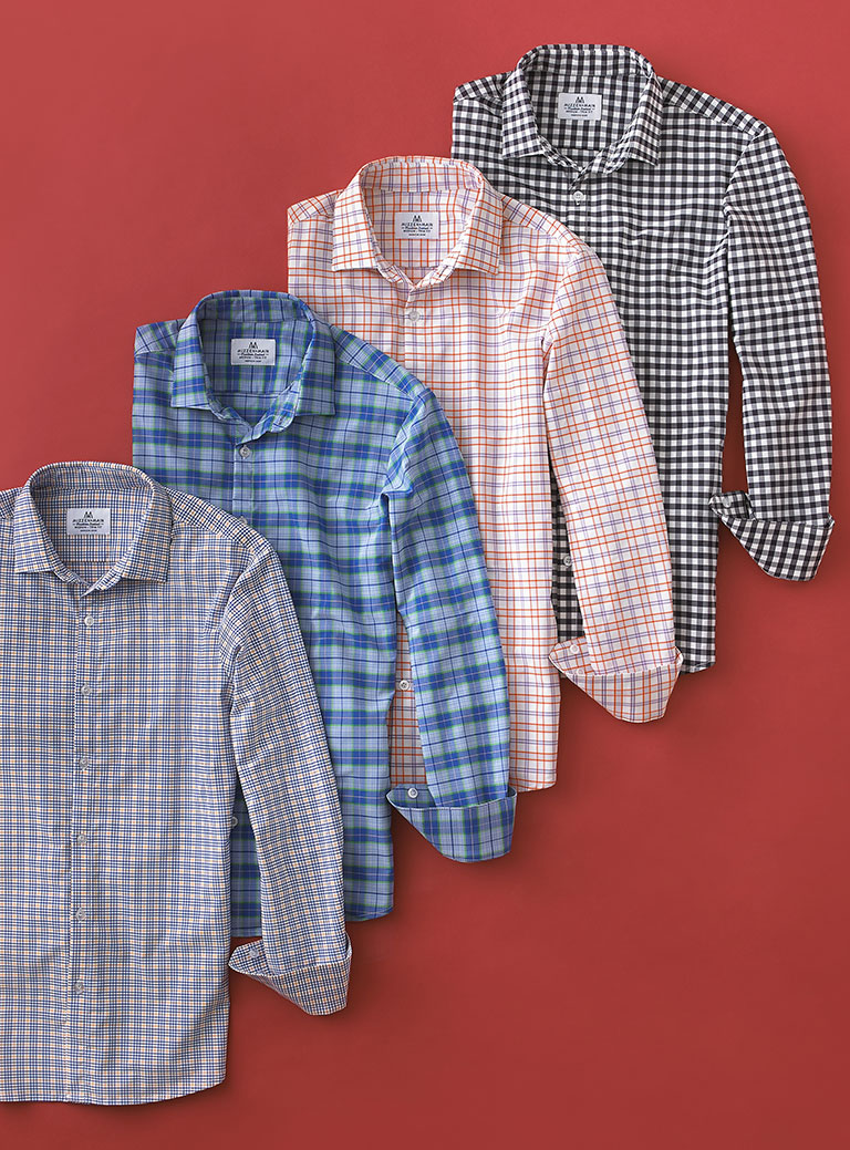Sport Shirts by Mizzen & Main