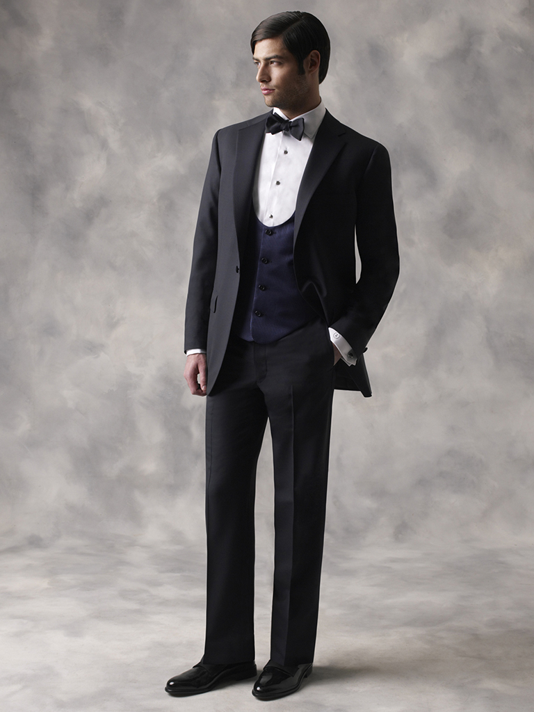 FORMAL GALLERY                                                                                                                                                                                                                                            , Solid Navy Tuxedo