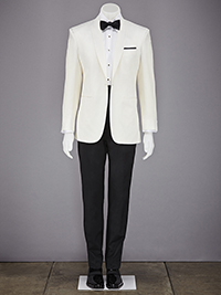 Custom White Dinner Jacket