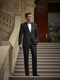 FORMAL GALLERY                                                                                                                                                                                                                                            , Solid Black Tuxedo