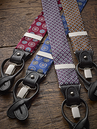 Custom Fancy Braces by The British Belt Company