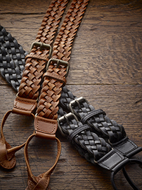 Custom Formal Braces by The British Belt Company