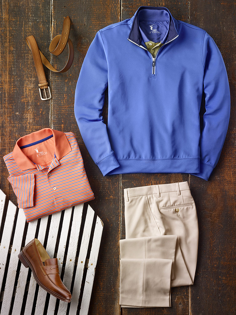 Casual Wear by Fairway & Greene and Tom James