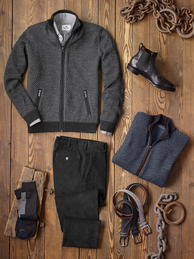Casual Wear by Tom James and Mizzen & Main