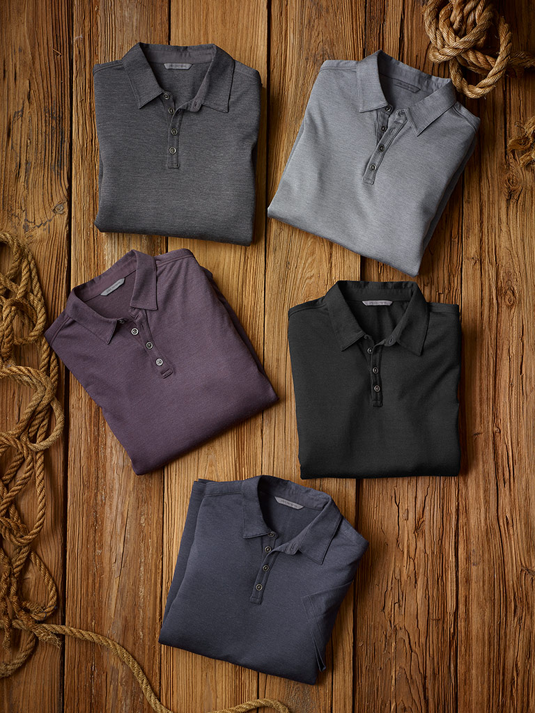 Ready To Wear Lookbook                                                                                                                                                                                                                                    , Polos by John Varvatos
