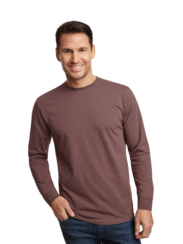 Ready To Wear Lookbook                                                                                                                                                                                                                                    , Long Sleeved Crew Neck T-Shirt by Tom James