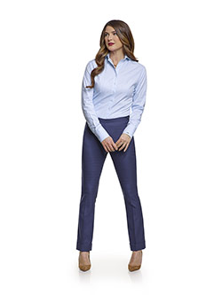 July 2017 Ladies Collection                                                                                                                                                                                                                               , Super 140's Blue Plaid