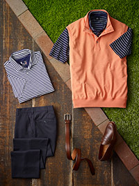 Custom Casual Wear by Fairway & Greene and Tom James