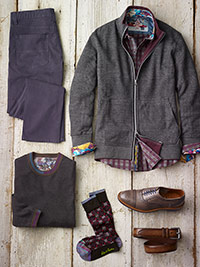 Custom Casual Wear by Robert Graham and Tom James