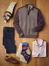 Ready To Wear Lookbook                                                                                                                                                                                                                                    , Casual Wear by Tom James and Mizzen & Main