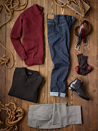 Ready To Wear Lookbook                                                                                                                                                                                                                                    , Casual Wear by Tom James and 34 Heritage