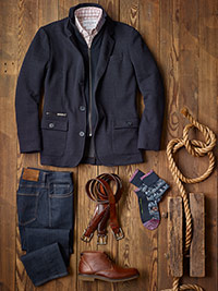 Custom Casual Wear by Tom James, Mizzen & Main and 34 Heritage
