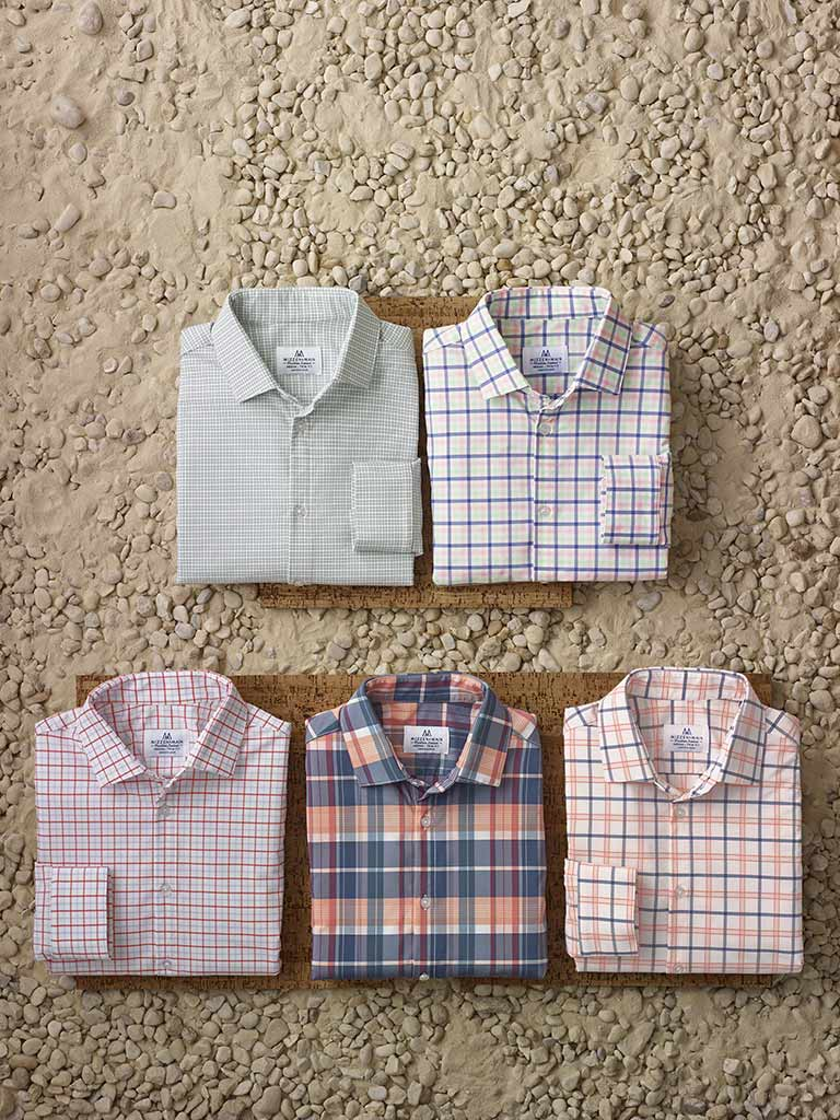 Long Sleeve Sport Shirts by Mizzen and Main