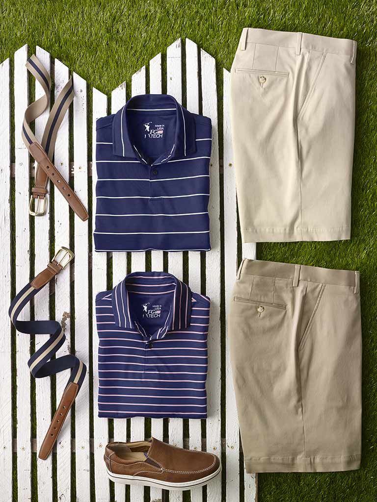 Knit Polos by Fairway & Greene