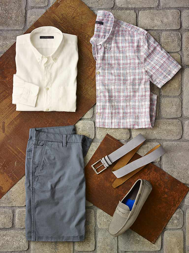 Sport Shirts and Short by John Varvatos