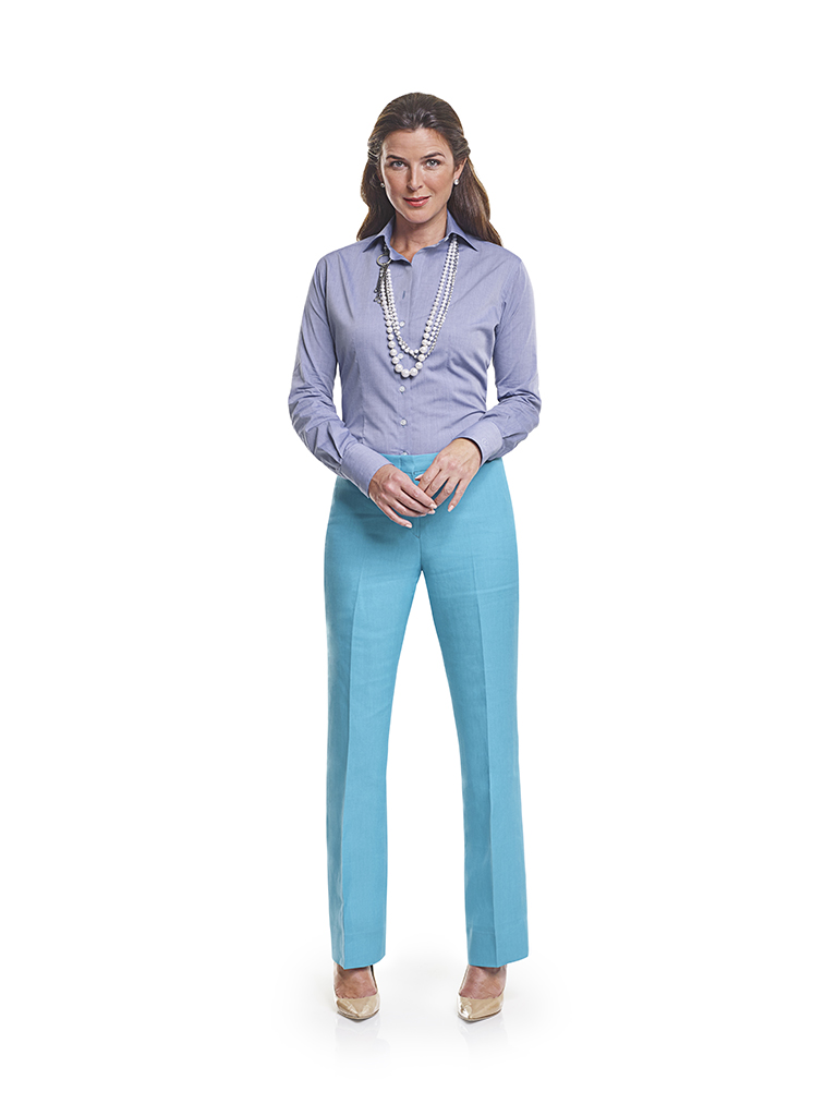 H&S Pacific Pure Linens - 100% Linen - Custom Ladies Trousers & Custom Ladies Dress Shirt