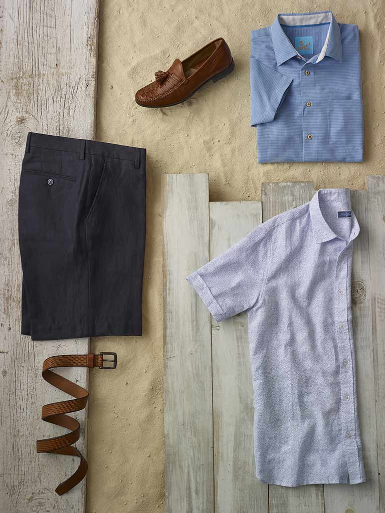 Sportswear Lookbook                                                                                                                                                                                                                                       , Short Sleeve Sport Shirts