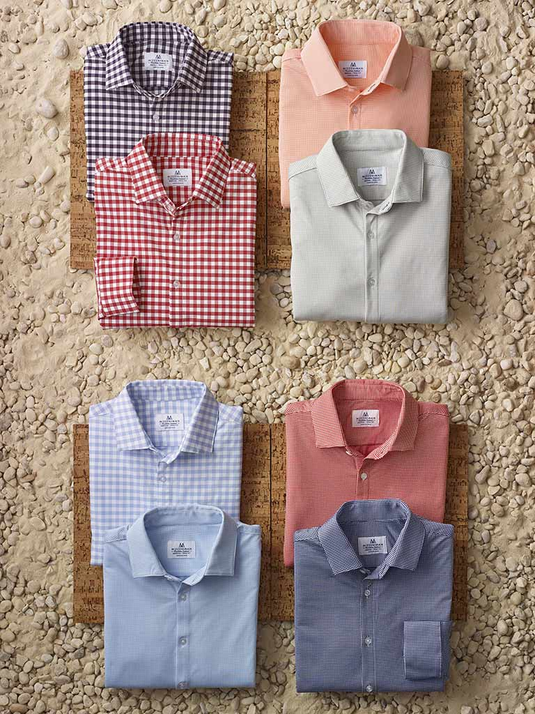 Sportswear Lookbook                                                                                                                                                                                                                                       , Long Sleeve Sport Shirts by Mizzen and Main