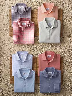 Custom Long Sleeve Sport Shirts by Mizzen and Main