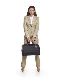 Ladies Custom Suits, Custom Dresses & Custom Skirt Gallery                                                                                                                                                                                                , Super 140's Light Tan Gabardine - Ladies Custom Suit