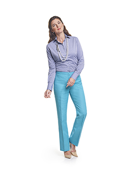 Ladies Custom Suits, Custom Dresses & Custom Skirt Gallery                                                                                                                                                                                                , H&S Pacific Pure Linens - 100% Linen - Custom Women's Trousers & Custom Blouse