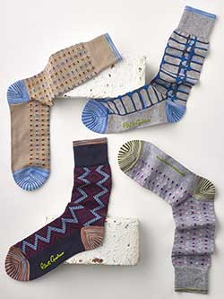 Custom Signature Socks by Robert Graham