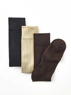 ACCESSORIES                                                                                                                                                                                                                                               , Padded Bottom Socks by Tom James